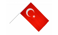 Stockflagge Türkei - 60 x 90 cm