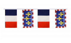 Freundschaftskette Frankreich - Centre - 30 x 45 cm