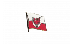Flaggen-Pin Italien Südtirol - 2 x 2 cm
