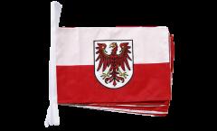 Fahnenkette Italien Südtirol - 30 x 45 cm
