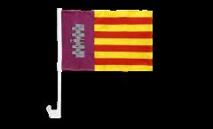 Autofahne Spanien Mallorca - 30 x 40 cm