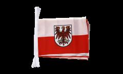 Fahnenkette Italien Südtirol - 15 x 22 cm