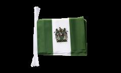Fahnenkette Rhodesien - 15 x 22 cm