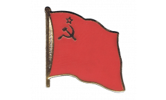 Flaggen-Pin UDSSR Sowjetunion - 2 x 2 cm