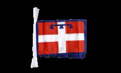 Fahnenkette Italien Piemont - 30 x 45 cm