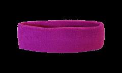 Stirnband Einfarbig Lila - 6 x 21 cm