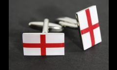 Manschettenknöpfe Flagge England - 18 x 12 mm