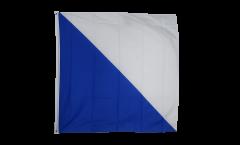 Flagge Schweiz Kanton Zürich - 120 x 120 cm