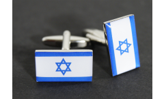 Manschettenknöpfe Flagge Israel - 18 x 12 mm