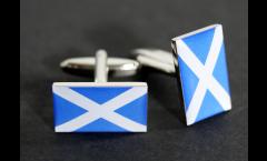 Manschettenknöpfe Flagge Schottland - 18 x 12 mm