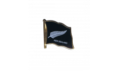 Flaggen-Pin Neuseeland Feder All Blacks - 2 x 2 cm