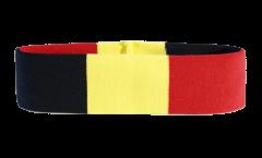 Stirnband Belgien - 6 x 21 cm