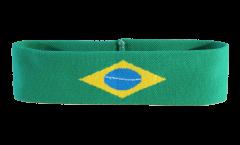 Stirnband Brasilien - 6 x 21 cm