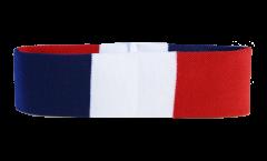 Stirnband Frankreich - 6 x 21 cm