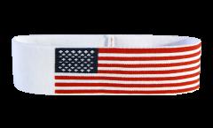 Stirnband USA - 6 x 21 cm