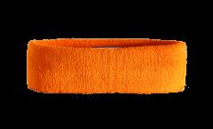 Stirnband Einfarbig Orange - 6 x 21 cm