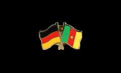Freundschaftspin Deutschland - Kamerun - 22 mm