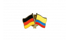 Freundschaftspin Deutschland - Kolumbien - 22 mm