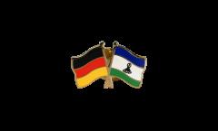 Freundschaftspin Deutschland - Lesotho - 22 mm