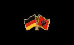 Freundschaftspin Deutschland - Montenegro - 22 mm