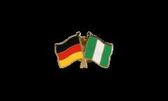 Freundschaftspin Deutschland - Nigeria - 22 mm