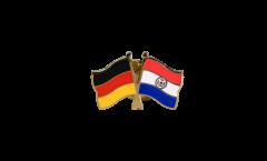 Freundschaftspin Deutschland - Paraguay - 22 mm