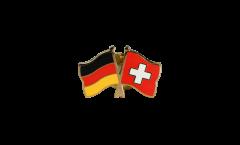 Freundschaftspin Deutschland - Schweiz - 22 mm
