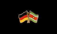Freundschaftspin Deutschland - Surinam - 22 mm
