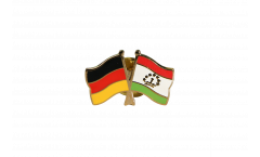 Freundschaftspin Deutschland - Tadschikistan - 22 mm