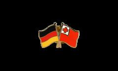 Freundschaftspin Deutschland - Tonga - 22 mm