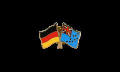 Freundschaftspin Deutschland - Tuvalu - 22 mm