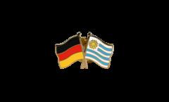 Freundschaftspin Deutschland - Uruguay - 22 mm