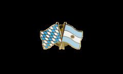 Freundschaftspin Bayern - Argentinien - 22 mm