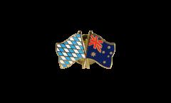 Freundschaftspin Bayern - Australien - 22 mm