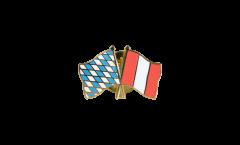 Freundschaftspin Bayern - Peru - 22 mm