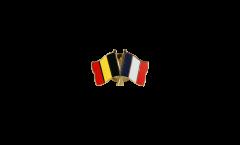 Freundschaftspin Belgien - Frankreich - 22 mm