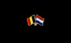 Freundschaftspin Belgien - Niederlande - 22 mm