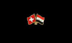 Freundschaftspin Schweiz - Irak - 22 mm