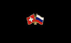 Freundschaftspin Schweiz - Russland - 22 mm