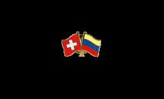 Freundschaftspin Schweiz - Venezuela - 22 mm