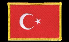 Aufnäher Türkei - 8 x 6 cm