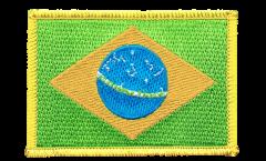 Aufnäher Brasilien - 8 x 6 cm