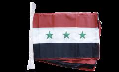 Fahnenkette Irak ohne Schrift 1963-1991 - 30 x 45 cm