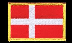 Aufnäher Dänemark - 8 x 6 cm