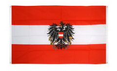 Balkonflagge Österreich mit Adler - 90 x 150 cm