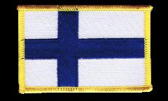 Aufnäher Finnland - 8 x 6 cm