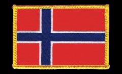 Aufnäher Norwegen - 8 x 6 cm