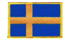 Aufnäher Schweden - 8 x 6 cm