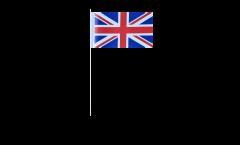 Papierfahnen Großbritannien - 12 x 24 cm