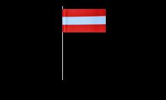 Papierfahnen Österreich - 12 x 24 cm
